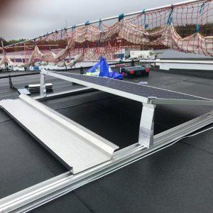 Monteringsmaterial solpaneler
